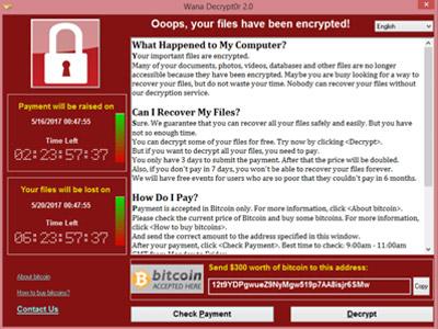 """Mucho Cuidado con los Ataques Masivos de Ransomware """"WannaCry"""""""