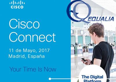 Equalia asiste al evento anual Cisco Connect 2017