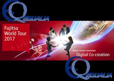 Equalia asiste al evento anual Fujitsu World tour 2017