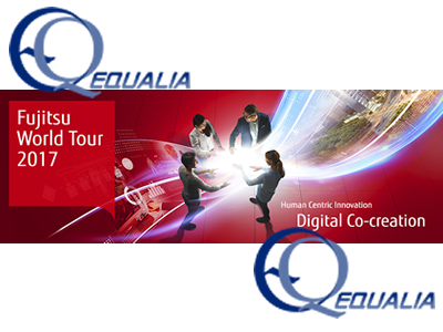 Equalia asiste al evento anual Fujitsu World tour 2017