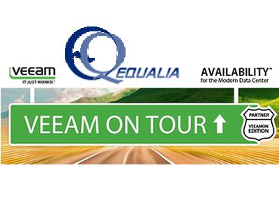 Equalia participa en el VeeamON TOUR 2017. Copia de seguridad y disponibilidad de negocio