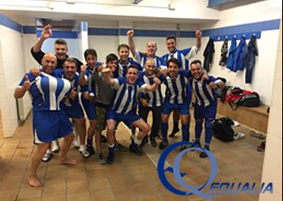 El Equipo de Veteranos de Futbol 7 de Equalia se Clasifica para la Final